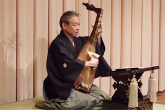 Kyoto 'Biwa Hoshi' Musician: Kyokusei Katayama