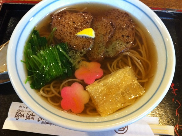 Soba Lunch: Rikyu Soba at Owariya