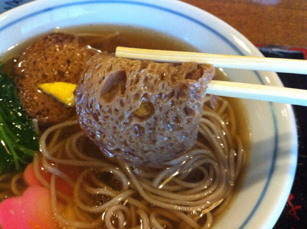 Soba Lunch: Rikyu Soba at Owariya