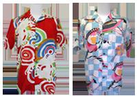 Pagong Classic Pattern Yuzen Dye Aloha Shirts