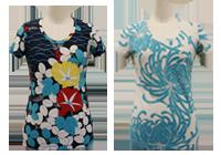 Kimono Inspired Cotton U Neck Shirts