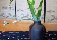 Japanese Pottery &amp; Ikebana: Akira Koie Flower Vase   