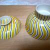 Antique Kyoyaki Ceramic Bowls from Naramachi Antique Store 大正時代京焼きの器