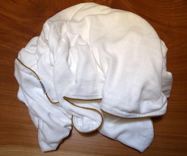 Five Layer Cotton Gauze 'Zen Master' Bath Towel