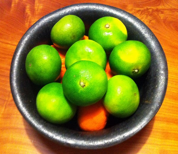 Aomikan Green Tangerines – End of Summer 2012