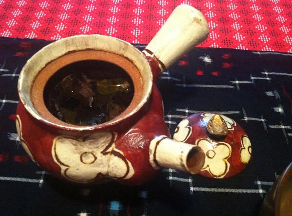 I Made a Cup of Hot 'Iri Bancha' Tea