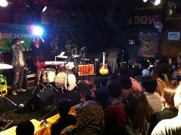 Nabowa at Kyoto Live House Taku Taku