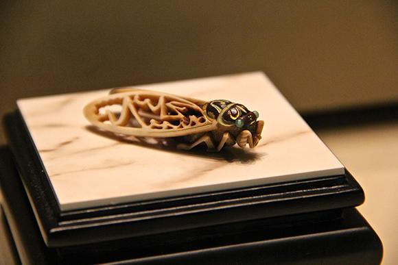 nightfall motomasa kurita kyoto seishu netsuke art museum exhibition september 2013