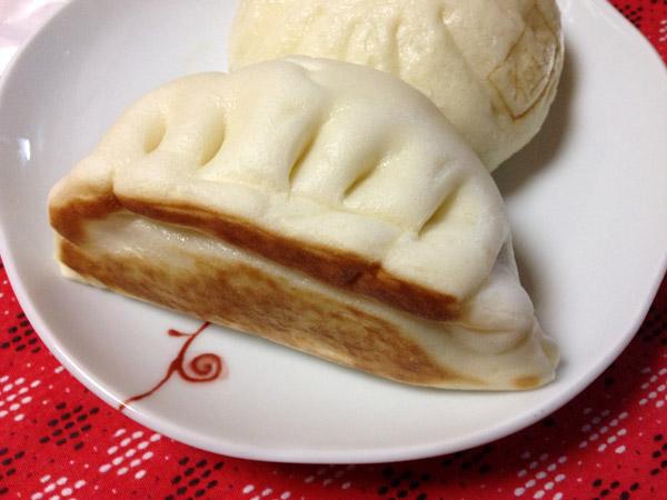 Japan Convenience Store Food: 7-11 Gyoza Shaped Nikuman