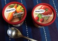 Häagen-Dazs Japan SpoonVege Carrot-Orange and Tomato-Cherry Ice Cream
