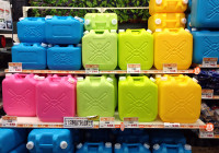 Japanese Colorful Kawaii ... Kerosene Cans
