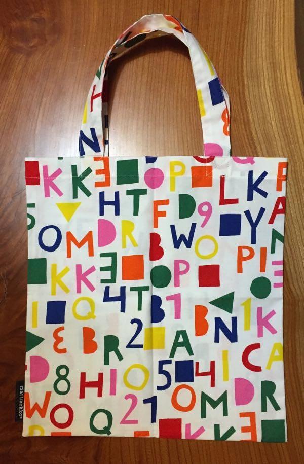 Marimekko Tote Bag -- Marimekko Shop Kyoto Fujii-Daimaru